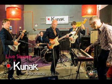 LOS VENTURAS - Live Session at Kunak Records (2015)